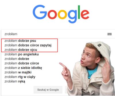 Google'owe szaleństwo!