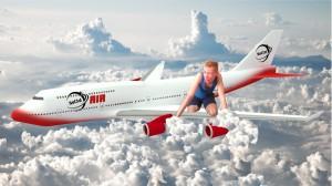 Na samolocie